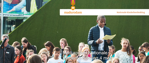 Nationale Kinderherdenking op 4 mei in Madurodam