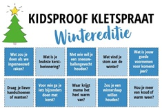 Kidsproof Kletspraat - Wintereditie