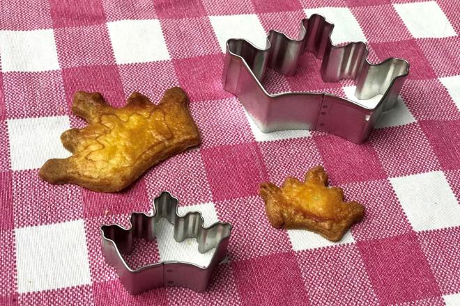 Koningskoekjes bakken