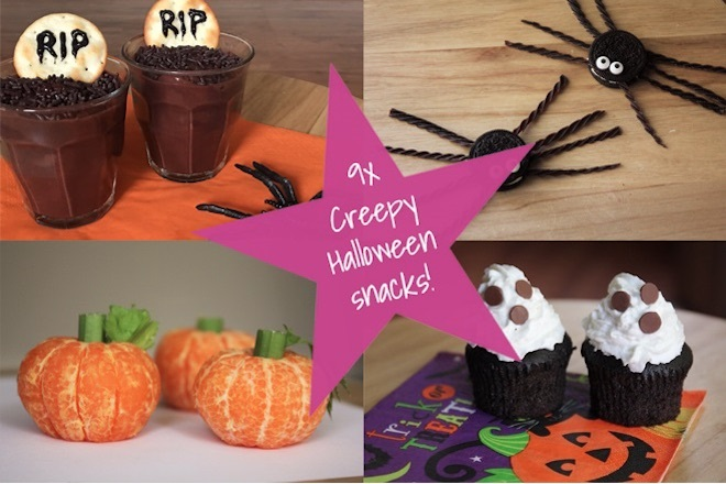 9 x creepy Halloween snacks