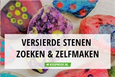 Happy stones: zoek je mee?