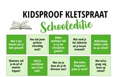 Kidsproof Kletspraat Schooleditie!