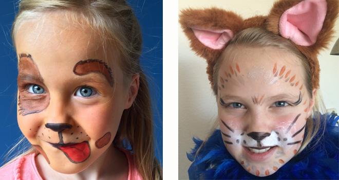 Zeer blog - Schminkvoorbeelden voor Carnaval! | Kidsproof Leiden &BR61