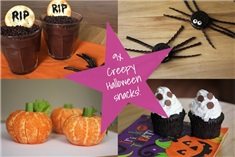 9x Creepy Halloween snacks