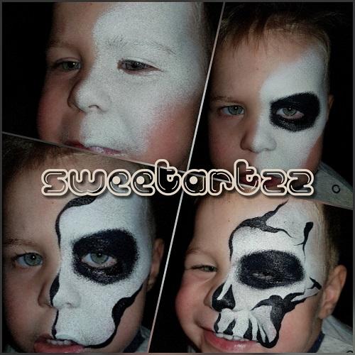 Halloween Schmink Kind.Blog Schminkblog Van Samera Van Sweetartzz Een Stoere