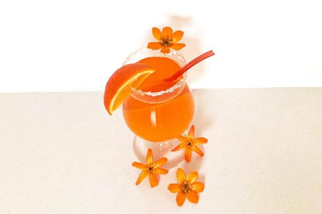 Oranje sapje