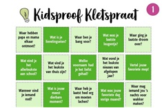 Kidsproof Kletspraat