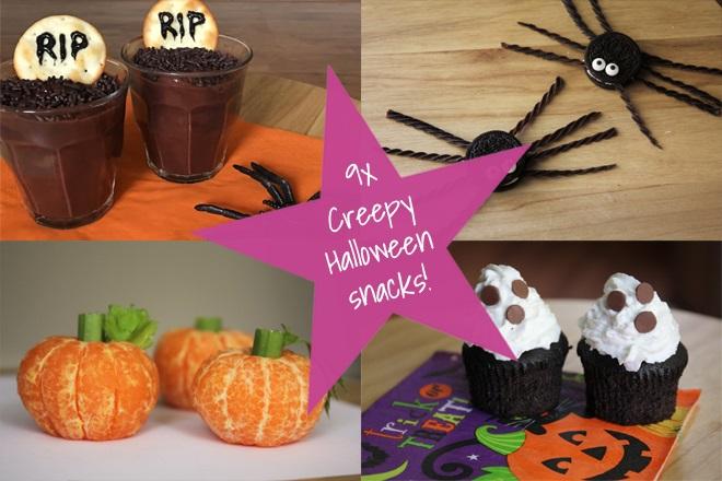 Halloween Traktaties.Blog 9x Creepy Halloween Snacks Kidsproof Twente
