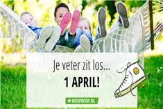 1 april kikker in je bil!