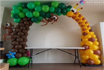 Ballonendecoraties!