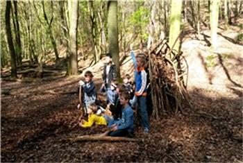 Wonderlijk Kinderfeestje in het bos - Cervus Buitenbeleving Arnhem NL-85