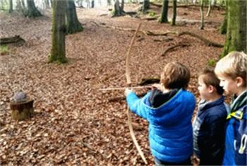 Wonderbaarlijk Kinderfeestje in het bos - Cervus Buitenbeleving Nijmegen GB-88