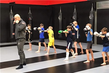 Leuke kickboks-training