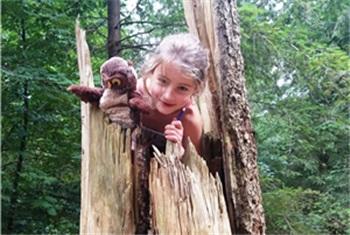 Verwonderlijk Kinderfeestje in het bos - Ontdek het buiten | Kidsproof Amersfoort WW-92