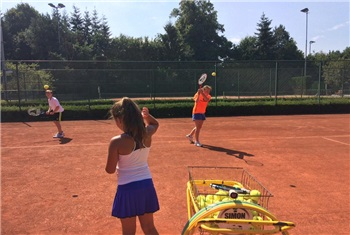 Tenniskamp bij SimonSPORT!