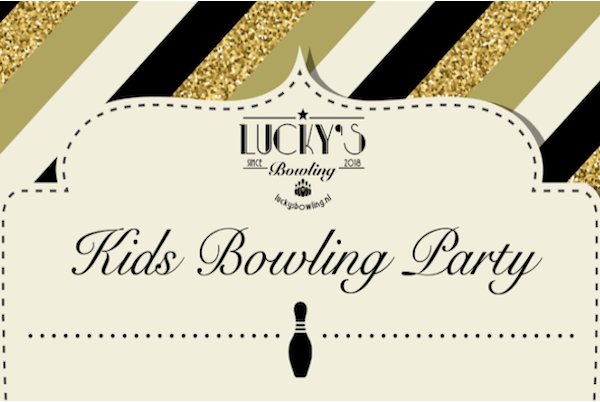Lucky's Kids Bowling Party