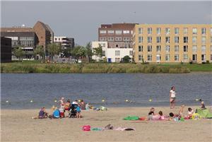 Buitenzwembaden en strandjes kidsproof amsterdam