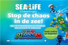 PJ Masks in Sea Life
